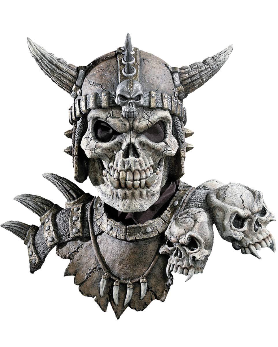 Kronos Halloween Maske mit Schulterpanzer