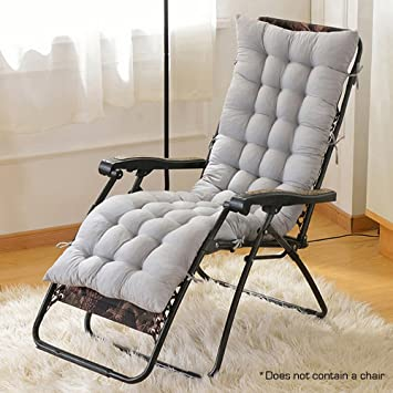 hootech chaise lounge cushion patio chair cushions outdoor mattress 60 inch for garden sun lounger recliner