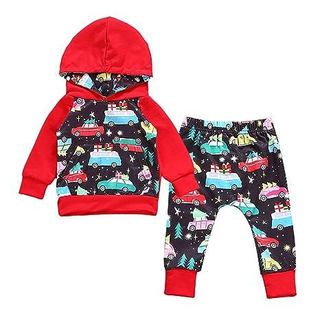 sharplace 2pcs sudadera de chándal bebé niños ropa trajes sombrero ...