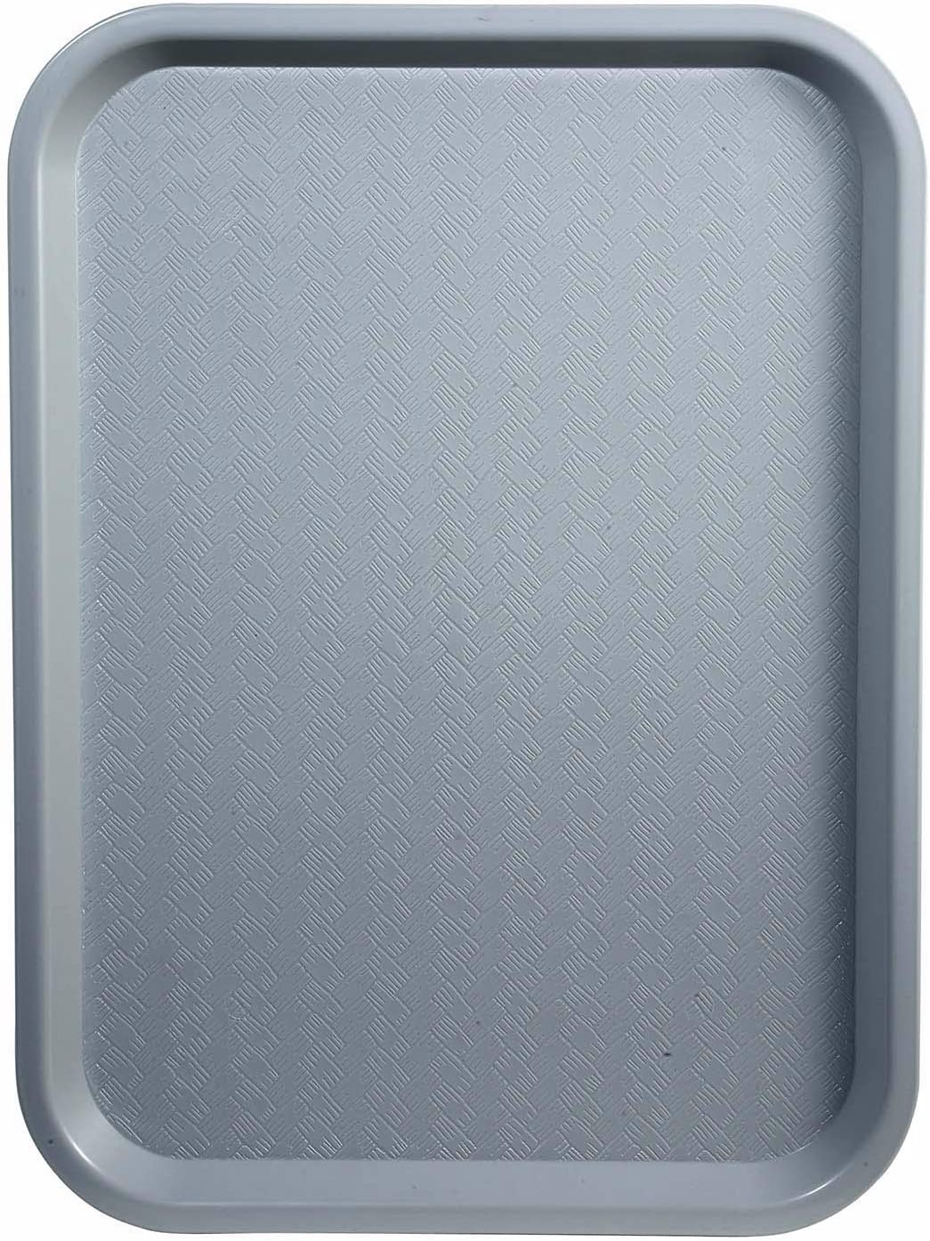 Winco Fast Food Tray, 14 by 18-Inch, Gray