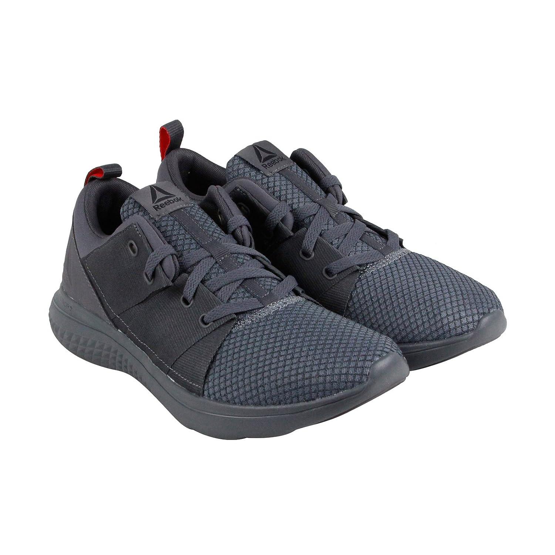 Reebok Men's RBK Astroride Athlux Run Sneaker B077136NZ7 8 D(M) US|Ash Grey-alloy-black