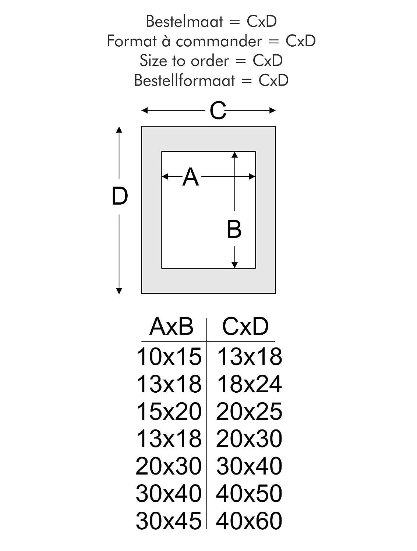 Amazon.de: Deknudt 847175 Wandrahmen, Holz, 30 x 40 cm, weiß