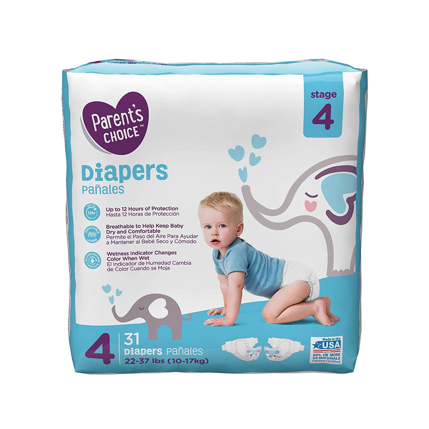 Parent\s Choice - Diapers (Sizes Newborn)