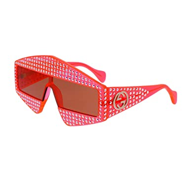 beda5c1dc Image Unavailable. Image not available for. Color  Sunglasses Gucci GG 0357  S- 002 ORANGE