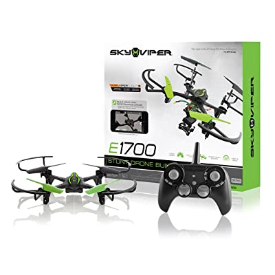 Sky Viper e1700 Stunt Drone Builder - Build Your Own Drone: Toys & Games [5Bkhe1102540]