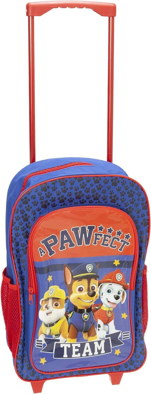Maleta con ruedas para niños Patrulla Canina de Carácter Equipaje Deluxe Trolley Mochila Mochila Cabina Bolsa Escuela