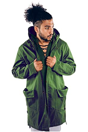 Green coat amazon