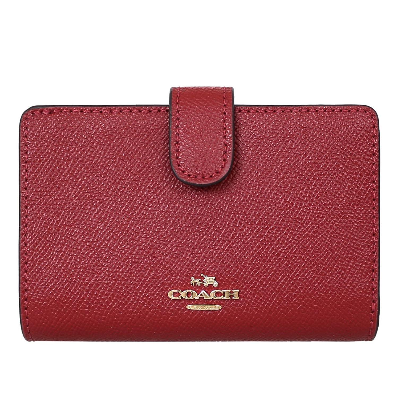 [コーチ] COACH 財布 (二つ折り財布) F11484 レザー 二つ折り財布 レディース [アウトレット品] [並行輸入品] B079Z488ZS  ダークレッド