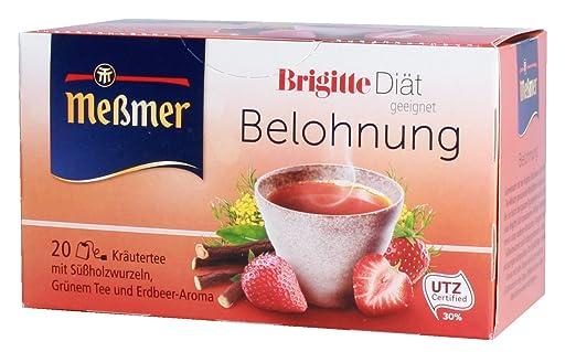 Messmer Brigitte Diat Belohnung Krautertee Sussholzwurzel Gruner Tee