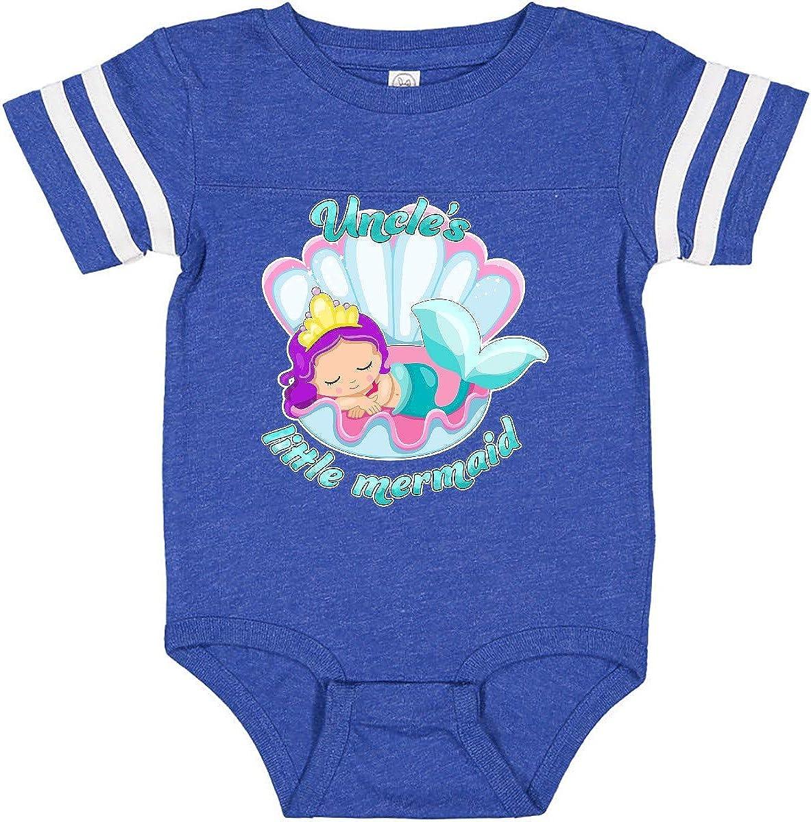 inktastic Uncles Little Mermaid Infant Creeper