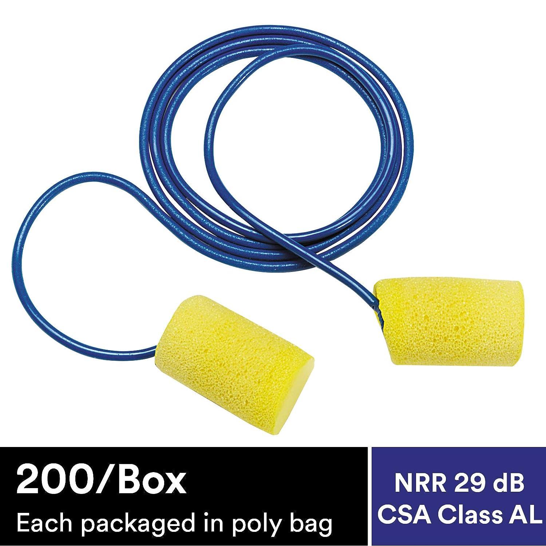 Amazon.com: 3 M E-A-R Classic Corded Tapones para los oídos ...