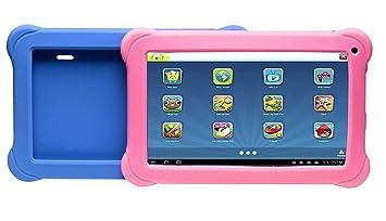 Denver Kinder Tablet Schwarz Mit 2 Farbigen Amazonde Computer