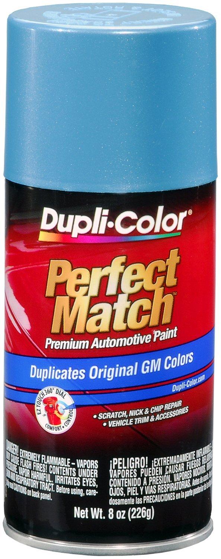light blue metallic spray paint