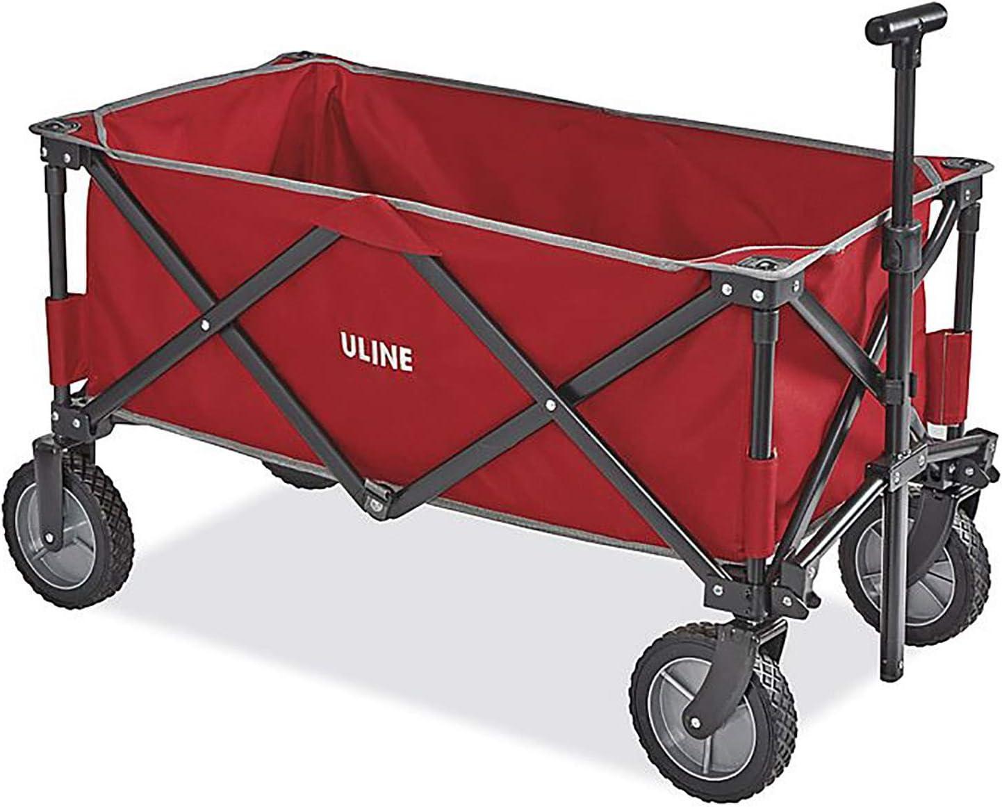 ULINE Utility Wagon, Red