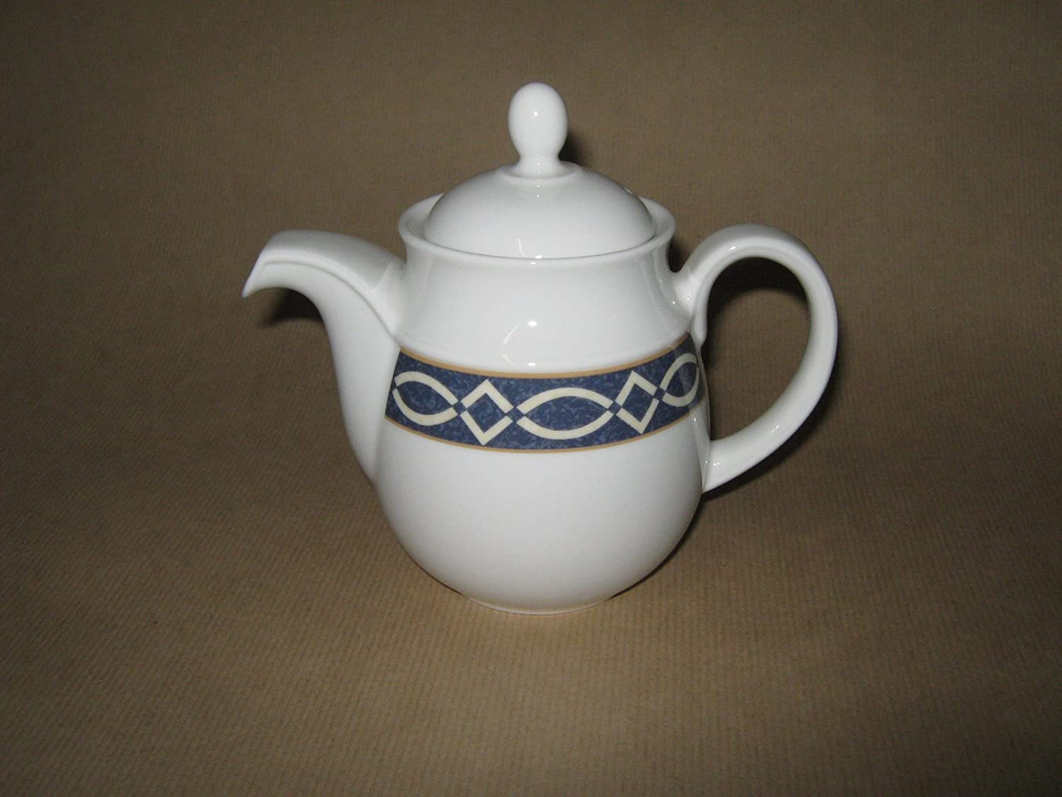 2-piece set of 28Cl sugar bowl and 23cl milk jug Palazzo with decorative circles in grey and dark red