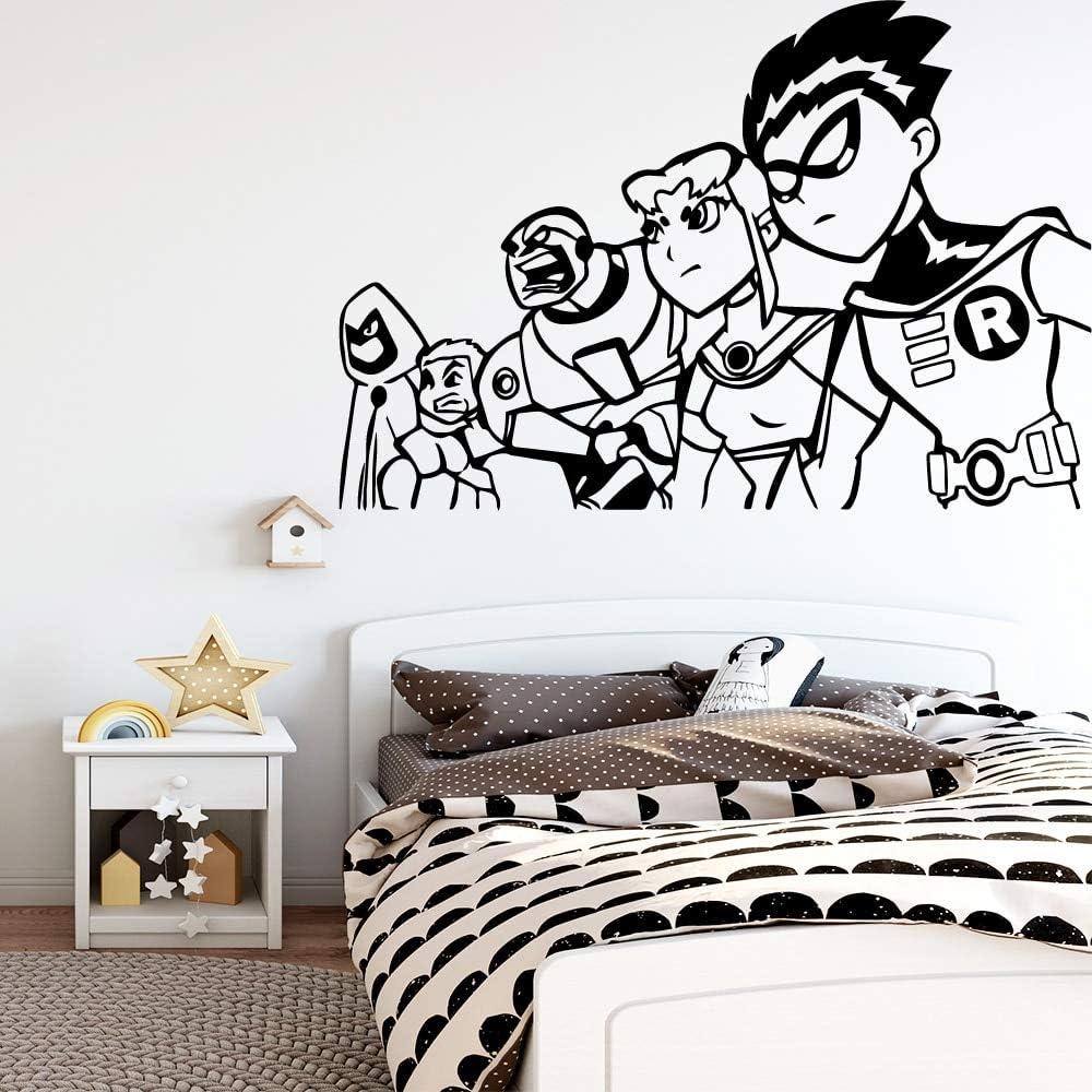 Ajcwhml Pegatinas de Pared de Personajes Populares Pegatinas de Arte de Pared calcomanías de Pared Decorativas extraíbles para habitación de niños: Amazon.es: Hogar