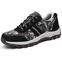 Zapatos de Seguridad para Hombre Antideslizante Calzado