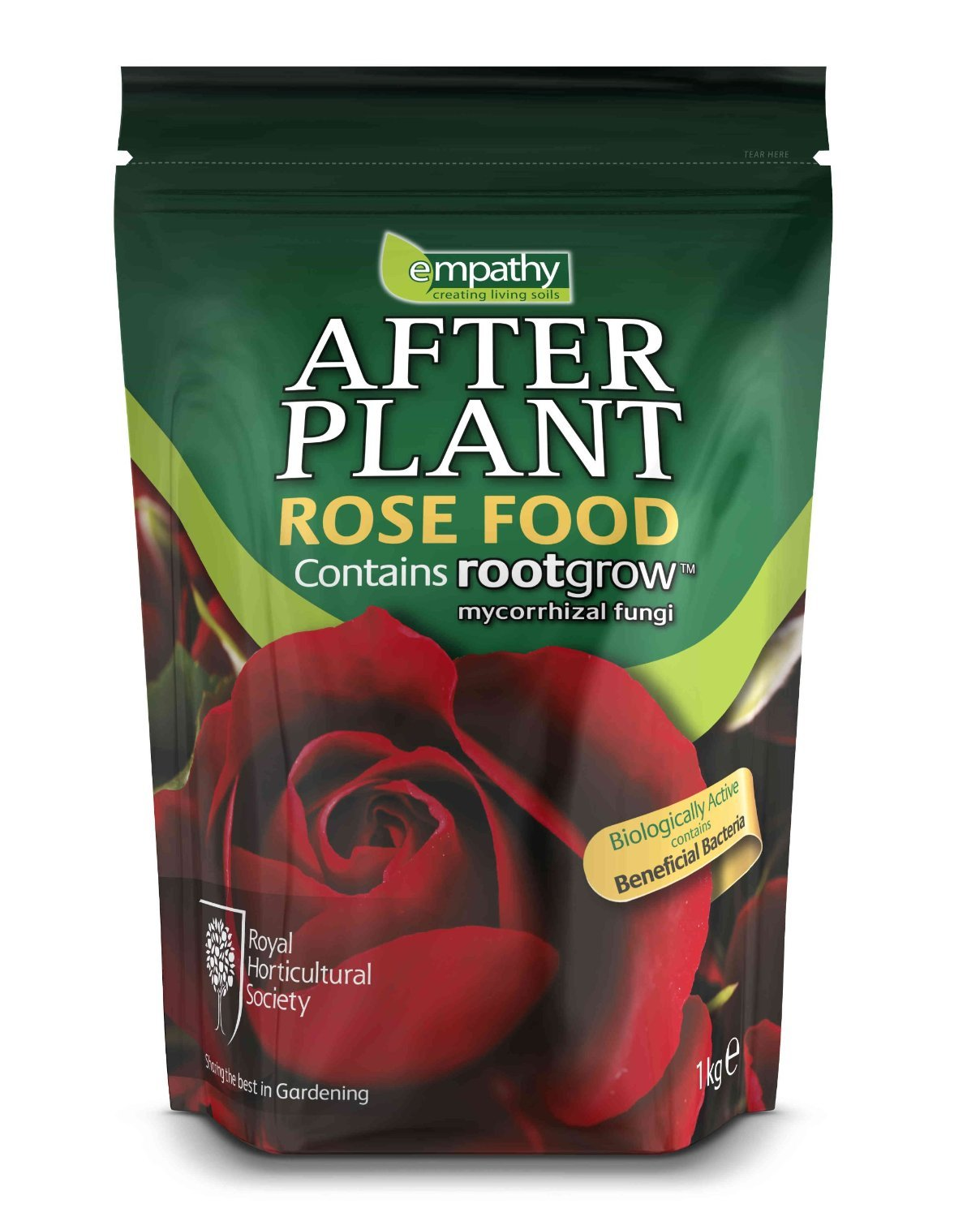 RHS EMPATHY AFTERPLANT ROSE FOOD WITH ROOTGROW MYCORRHIZAL FUNGI (10Kg)
