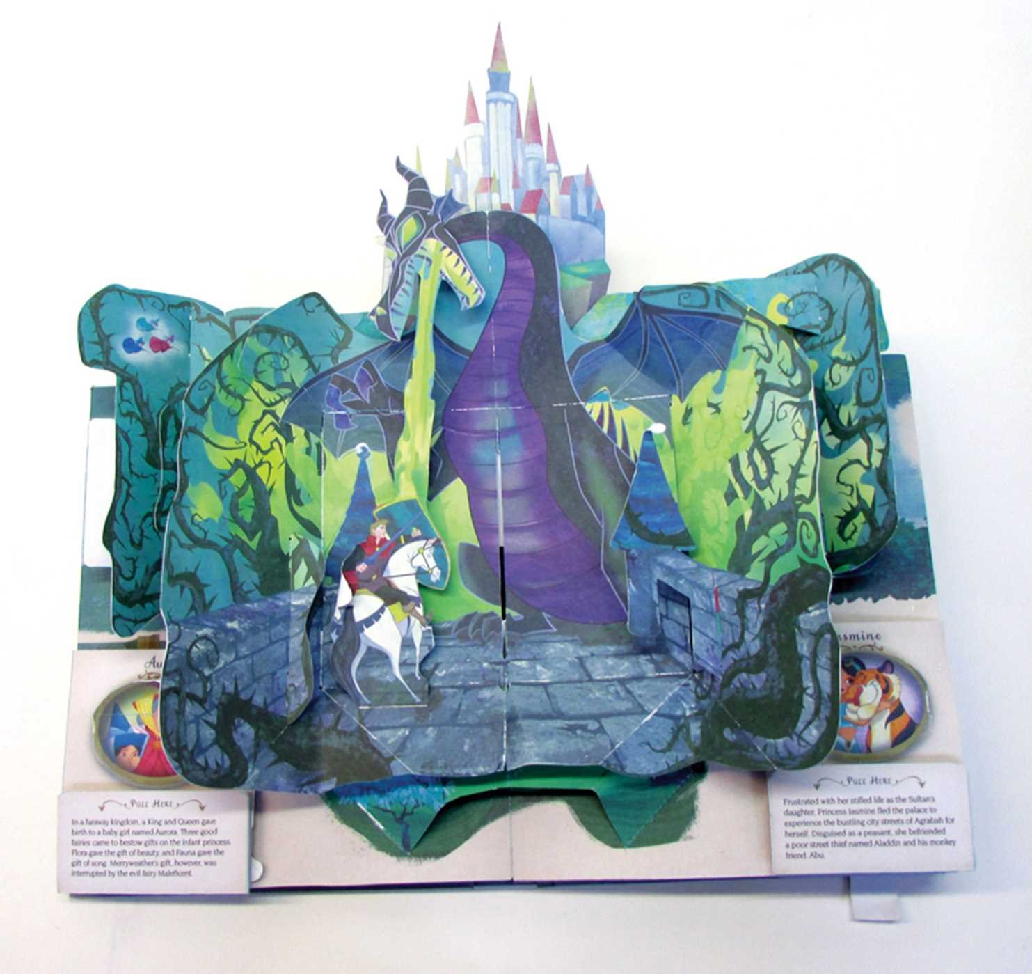 disney princess pop up book