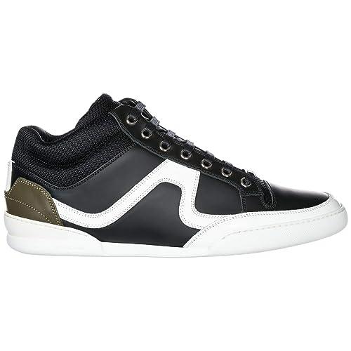 Dior Zapatillas Deportivas Hombre Black/White: Amazon.es: Zapatos y complementos