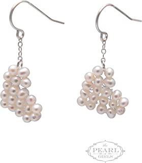 product image for Cultured Pearl Heart Earrings
