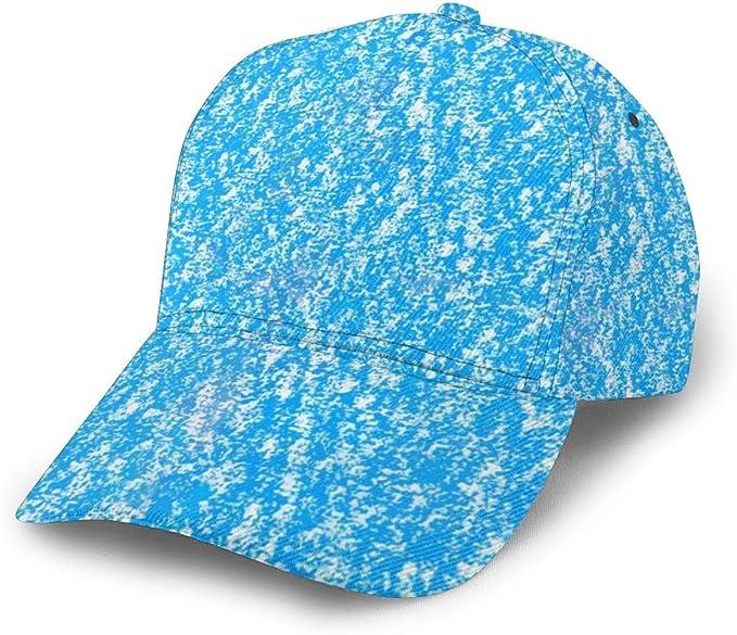 Gorra de béisbol Aceite Pastel Textura sin Costuras Sombrero de ...