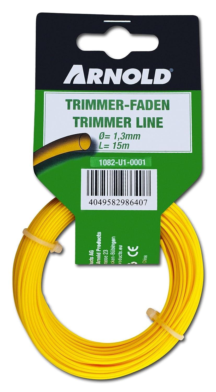 Arnold 1082-U1-0001 Trimmerfaden, rund, 1.3 mm