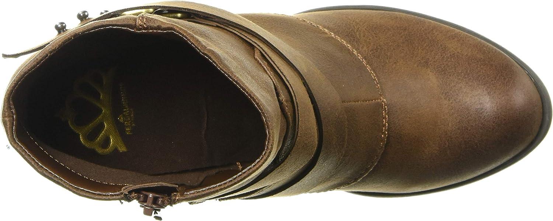 Fergalicious Lethal Botte tendance pour femme Cognac