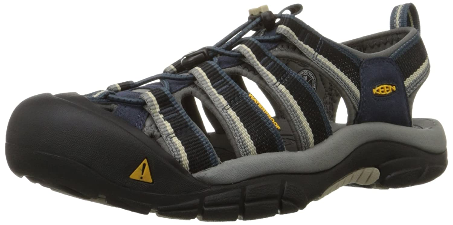 KEEN Men's Newport H2 Sandal B00ZG2V5PQ 9.5 D(M) US|Midnight Navy/Feather Gray