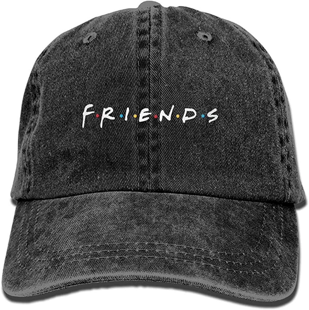 Note Character Cowboy Hat Dad Hats Beach Denim Caps for Mens Womens