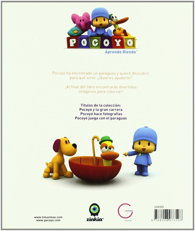 Pocoyo juega con el paraguas: POCOYO / CUENTO Y PASATIEMPOS: 9788408073598: Amazon.com: Books
