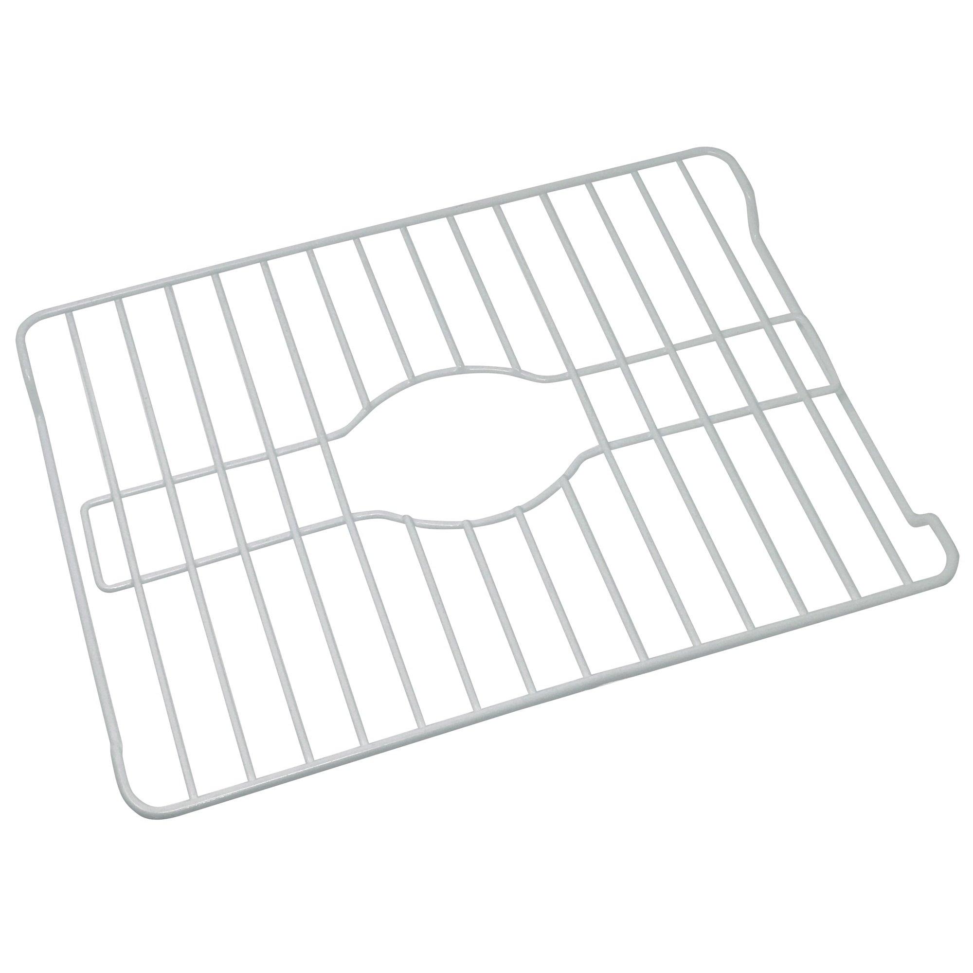 Better Houseware 1486/W Medium Sink Protector, White