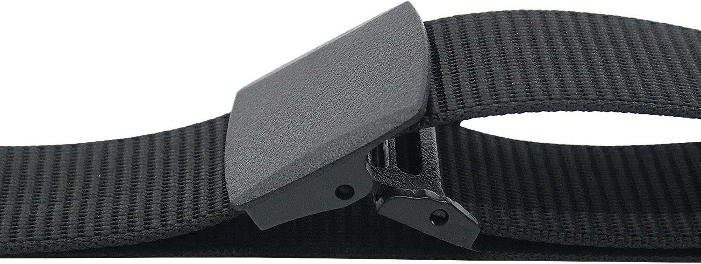 Aman Militaire Ceinture Armée tissés tissu nylon avec Plastique Boucle 120 cm