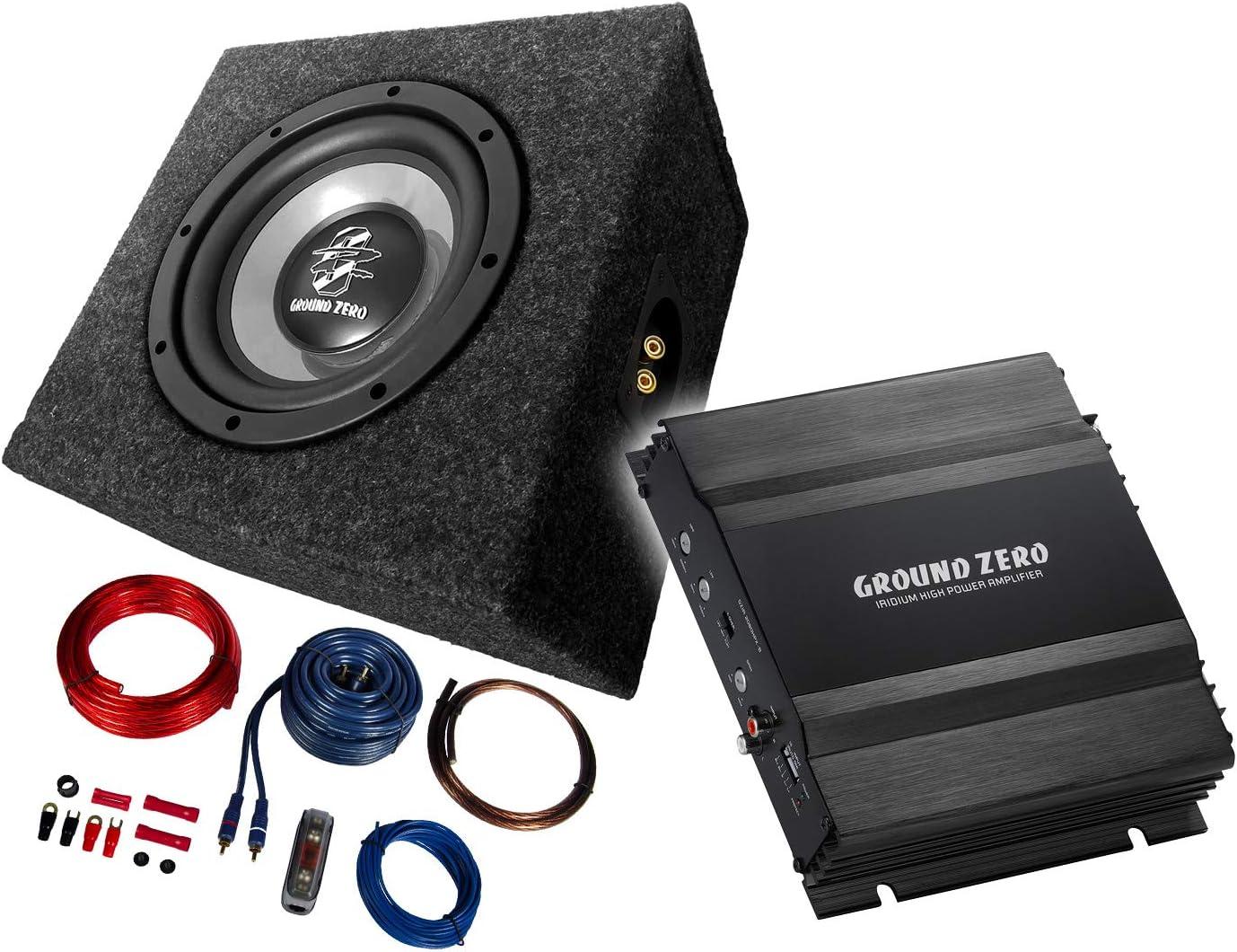 Mediadox Ground Zero 2 Channel Amplifier 20 Cm Elektronik