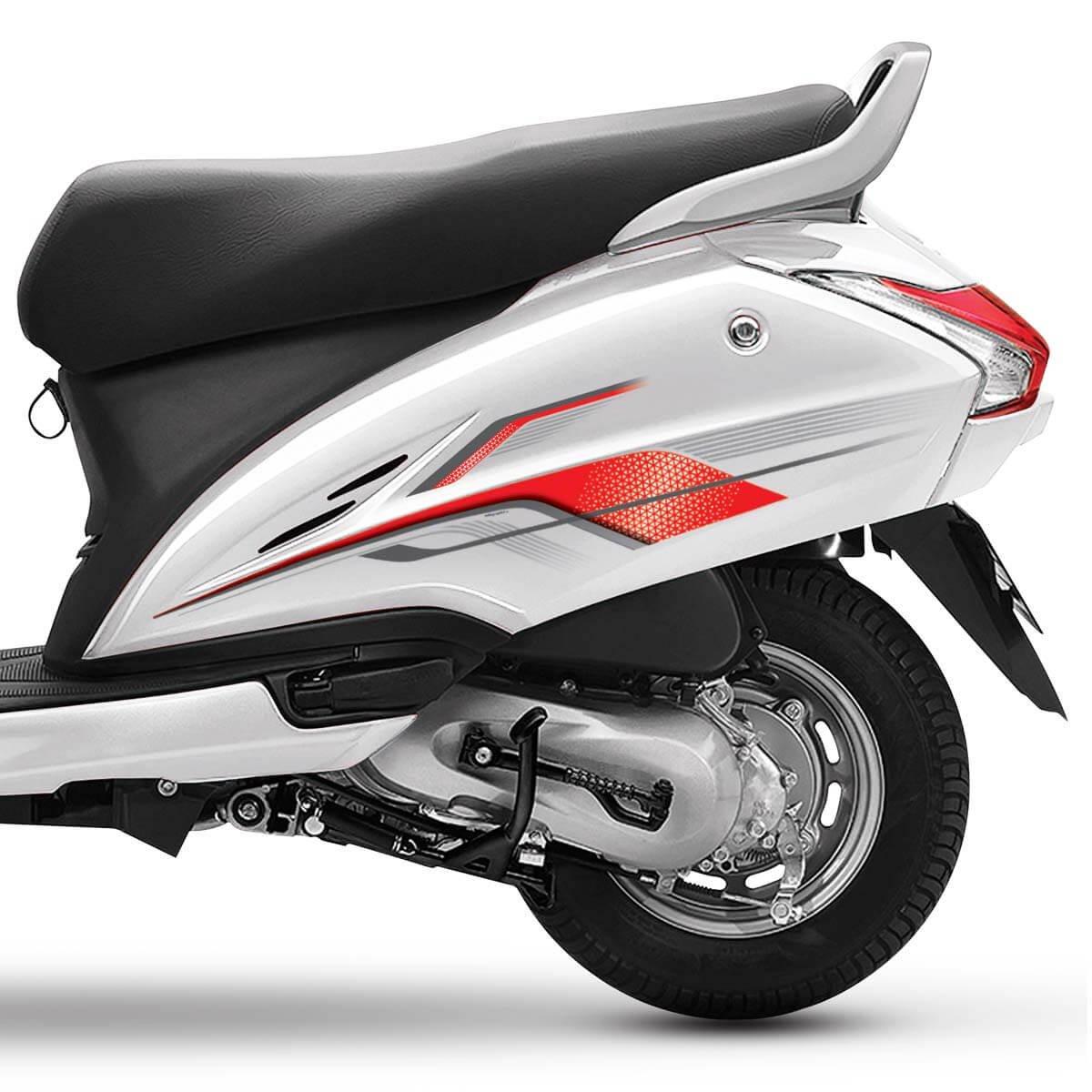 Autographix Dio Bike Snickering For Scooty Activa Stickers Design Honda Graphics 4g 3g Red Magic Car Motorbike