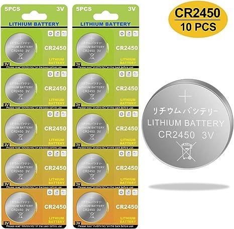 20 Pack Button Cell Battery 3V for Flameless Tea Light Candles 700mAh