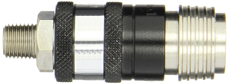Coilhose 1101 1//4 Megaflow Connector 1//4 MPT Megaflow Connector Plated Steel 7 Units