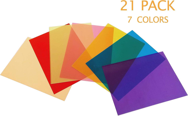 - Amazon.com : Best Starloop 21Pack Light Gels Colored Overlays