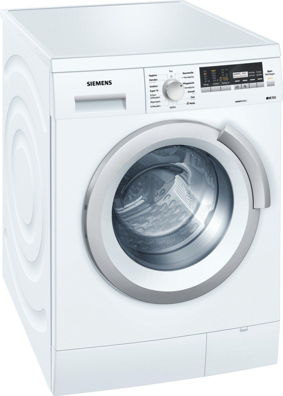 Siemens WM14S444 - Lavadora (Independiente, Color blanco, Superior ...