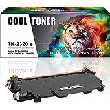 Cool Toner Compatible pour TN-2320 TN2320 TN 2320 pour Brother MFC-L2700DW MFC-L2720DW MFC-L2740DW HL-L2300D HL-L2340DW HL-L2360DN HL-L2365DW DCP-L2500D DCP-L2520DW DCP-L2540DN (Noir, 2600 feuilles).