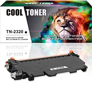 Cool Toner Compatible Toner Cartridge TN-2320 TN-2310 Replacement for  Brother HL-
