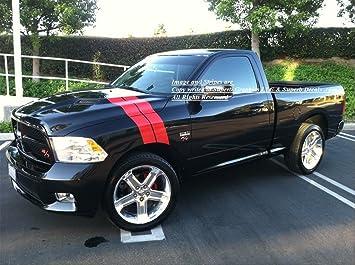 Dodge Ram Rt >> Amazon Com 2009 2010 2011 2012 2013 Dodge Ram R T Long Hash Mark