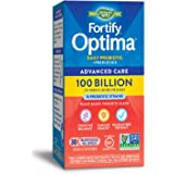 Nature's Way Fortify Optima Daily Probiotic, 100 Billion, 15 Strains, Prebiotic, 30 Capsules