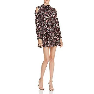 2ecfc367783813 En Crème Womens Woven Floral Print Casual Dress at Amazon Women s ...