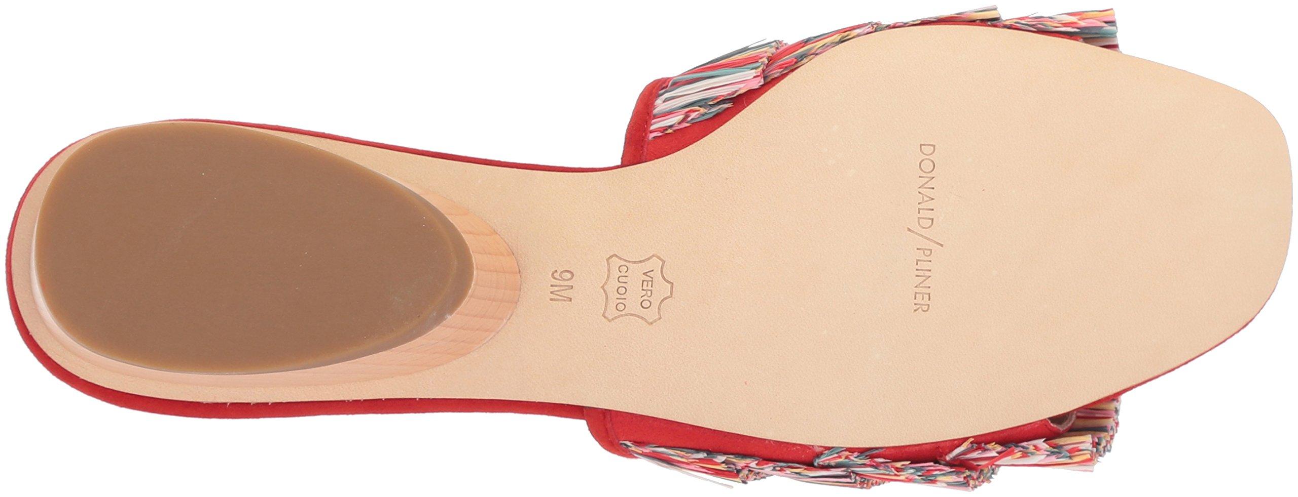 Donald J Pliner Women's Reise Slide Sandal, Red/Multi, 9 Medium US by Donald J Pliner (Image #3)