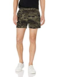 "Goodthreads Men's 5"" Inseam Flat-Front Stretch Chino Short"