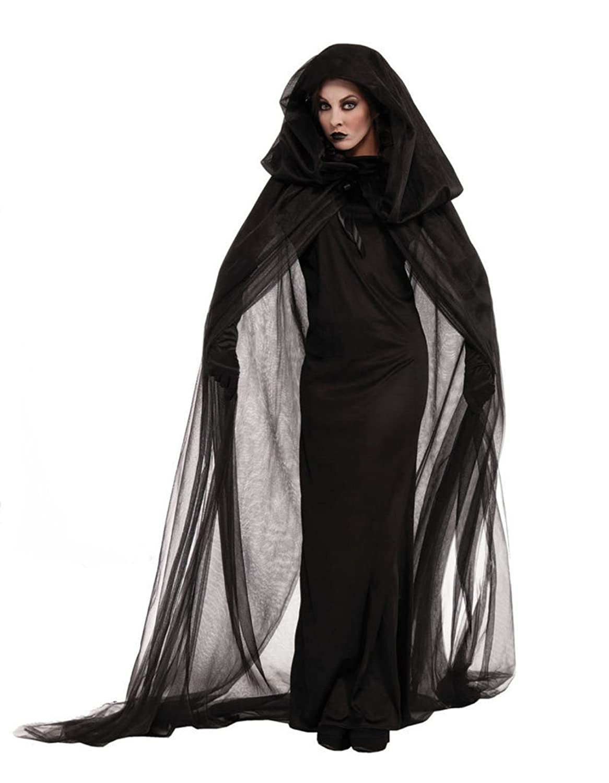 Amazon.com: Sukiyaki capa de terciopelo con capucha mujeres ...