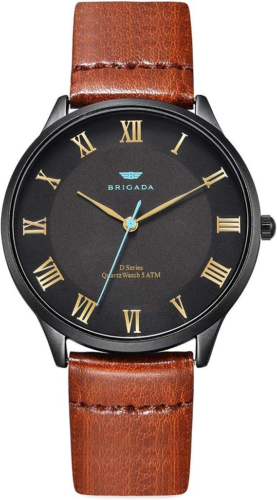 Cool Black Nice Fashion Men Dress Watch Classic Business Casual Quartz Watch for Men Waterproof