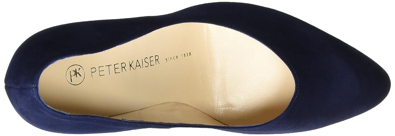 Peter Kaiser Blau Damen Herdi Pumps Blau Kaiser (Notte Suede Crakle) 8f262b