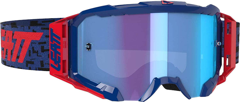 RED//RED Lens Leatt 5.5 Velocity Iriz Goggles